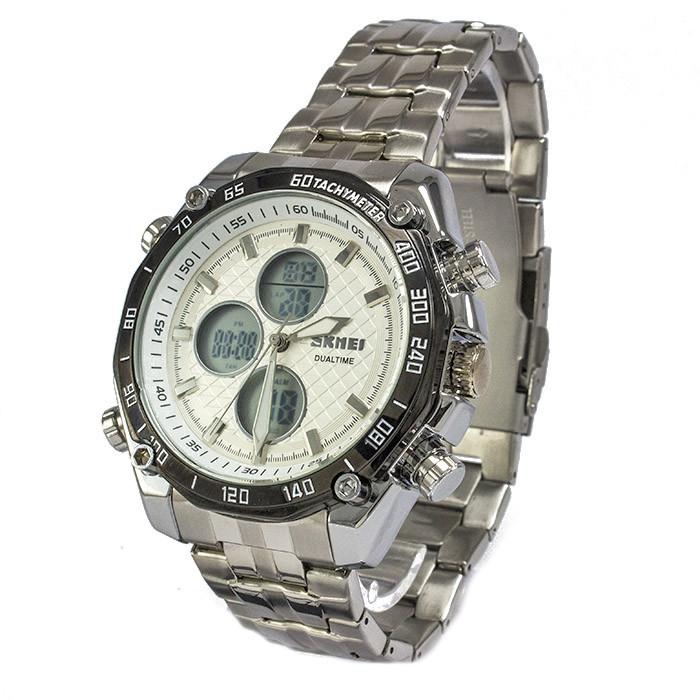 Часы Skmei 1302 Silver