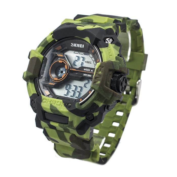 Часы тактические Skmei 1233 Green Camo
