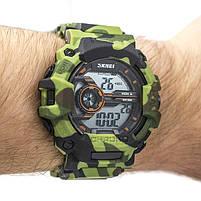 Часы тактические Skmei 1233 Green Camo, фото 2