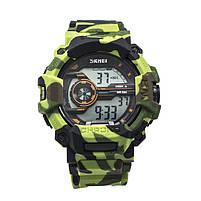 Часы тактические Skmei 1233 Green Camo, фото 3