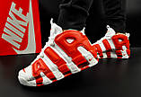 Кроссовки Nike Air More Uptempo арт 20617 (мужские, белые, найк), фото 2