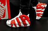 Кроссовки Nike Air More Uptempo арт 20617 (мужские, белые, найк), фото 3