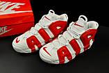 Кроссовки Nike Air More Uptempo арт 20617 (мужские, белые, найк), фото 8