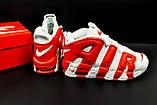 Кроссовки Nike Air More Uptempo арт 20617 (мужские, белые, найк), фото 9