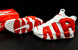 Кроссовки Nike Air More Uptempo арт 20617 (мужские, белые, найк), фото 10