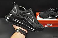 Кроссовки Nike Air Max 720 арт 20609 (женские,черные, найк), фото 1