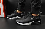Кроссовки Nike Air Max 270 арт 20600 (мужские,черные), фото 3