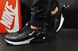 Кроссовки Nike Air Max 270 арт 20600 (мужские,черные), фото 4