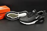 Кроссовки Nike Air Max 270 арт 20600 (мужские,черные), фото 8