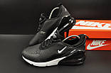 Кроссовки Nike Air Max 270 арт 20600 (мужские,черные), фото 9