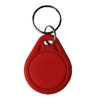 Брелок RFID Mifare Classic 1K, 10 шт., Ardix BKM, красный, 05-002-1