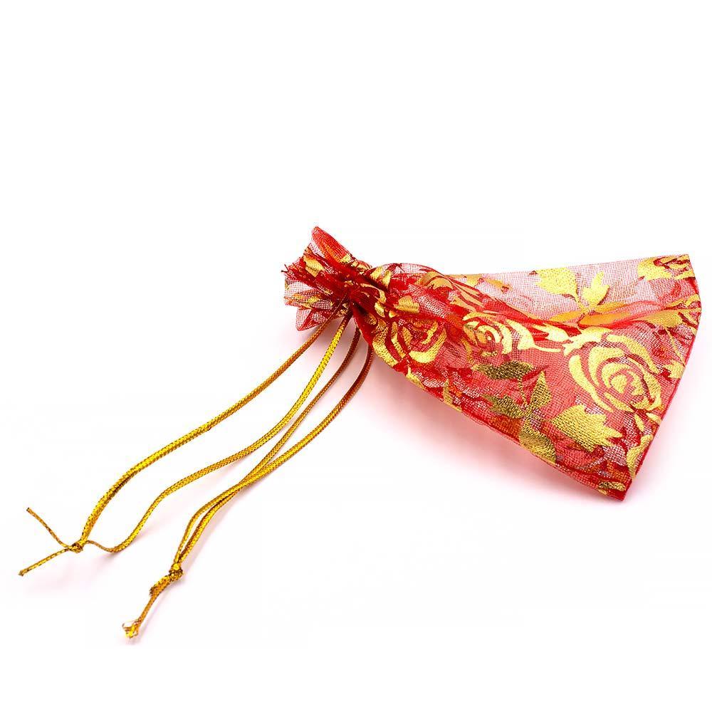 Мешочек для украшений «Розы»