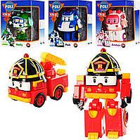 Машинка-трансформер Robocar Poli и его друзья.