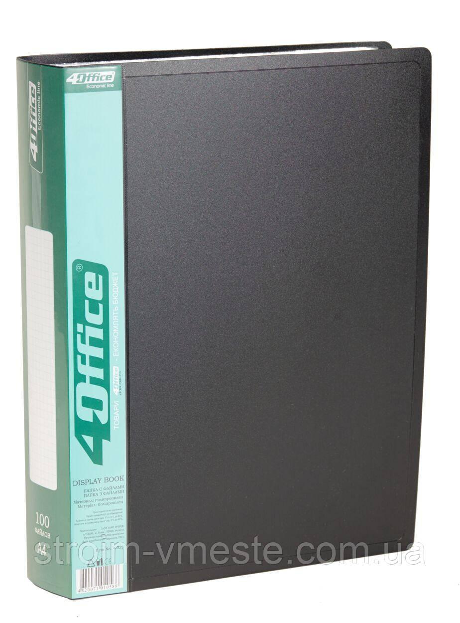 Папка с файлами А4 4OFFICE 4-228 PP 100 файлов