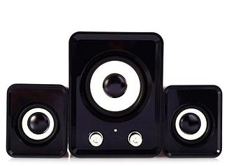 Настольные Проводные Компьютерные мини Колонки акустика 2.1 FT-202 с Сабвуфером для Пк, Ноутбука ТелефонаNEW!