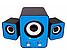 Настольные Проводные Компьютерные мини Колонки акустика 2.1 FT-202 с Сабвуфером для Пк, Ноутбука Телефона NEW!, фото 4