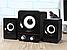 Настольные Проводные Компьютерные мини Колонки акустика 2.1 FT-202 с Сабвуфером для Пк, Ноутбука Телефона NEW!, фото 3