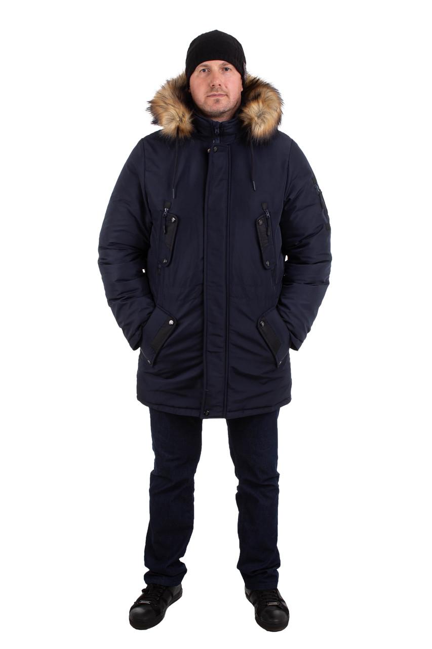 Куртку парку зимнюю мужскую от производителя 44-54 цвет 10