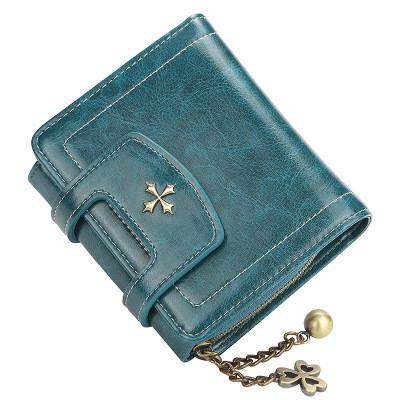 Женский Кошелек Маленький Baellerry Templar Mini (N1638) на Кнопке для Карточек Синий