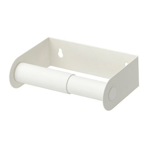 """ИКЕА """"ЭНУДДЭН"""" Держатель туалетной бумаги, белый"""
