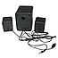 Настольные Проводные Компьютерные мини Колонки акустика 2.1 FT-202 с Сабвуфером для Пк, Ноутбука Телефона NEW!, фото 5