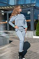 """Теплый женский спортивный костюм """"Bliss"""" с карманами (большие размеры)"""
