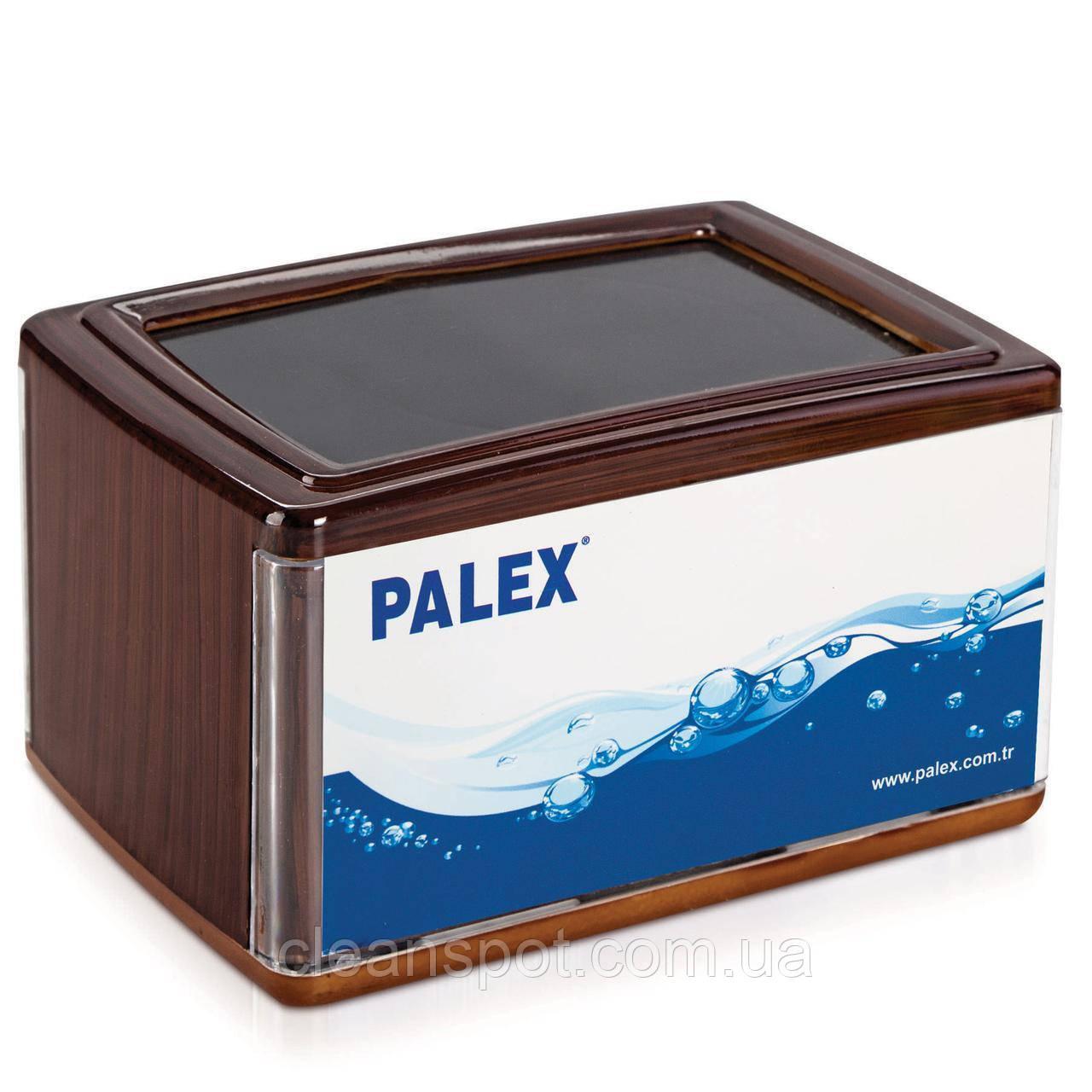 Диспеснер настольных салфеток V сложения PALEX коричневый
