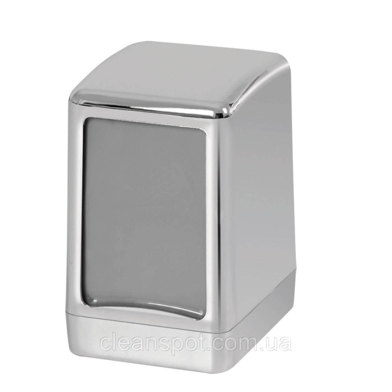 Диспеснер настольных салфеток зеркальный серебристый PALEX