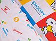Сатин (хлопковая ткань) Snoopy компаньон (35*160), фото 2