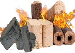 Топливные брикеты (торфобрикет, древесный брикет - RUF и PINI-KAY, из лузги подсолнуха)
