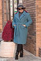 Пальто BX-5182. Размеры 48-50;52-54;56-58, фото 1