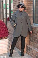 Пальто BX-5185. Размеры 50-54, фото 1