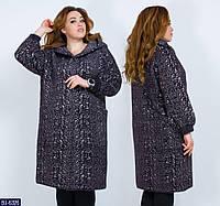 Пальто BJ-6326. Размеры 50-54, фото 1