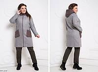 Пальто BW-2210. Размеры 48;50;52;54
