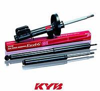 Амортизатор передний Лачетти в сборе газовый левый (KYB Excel G)