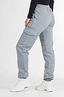 Теплые штаны - джогеры на флисе