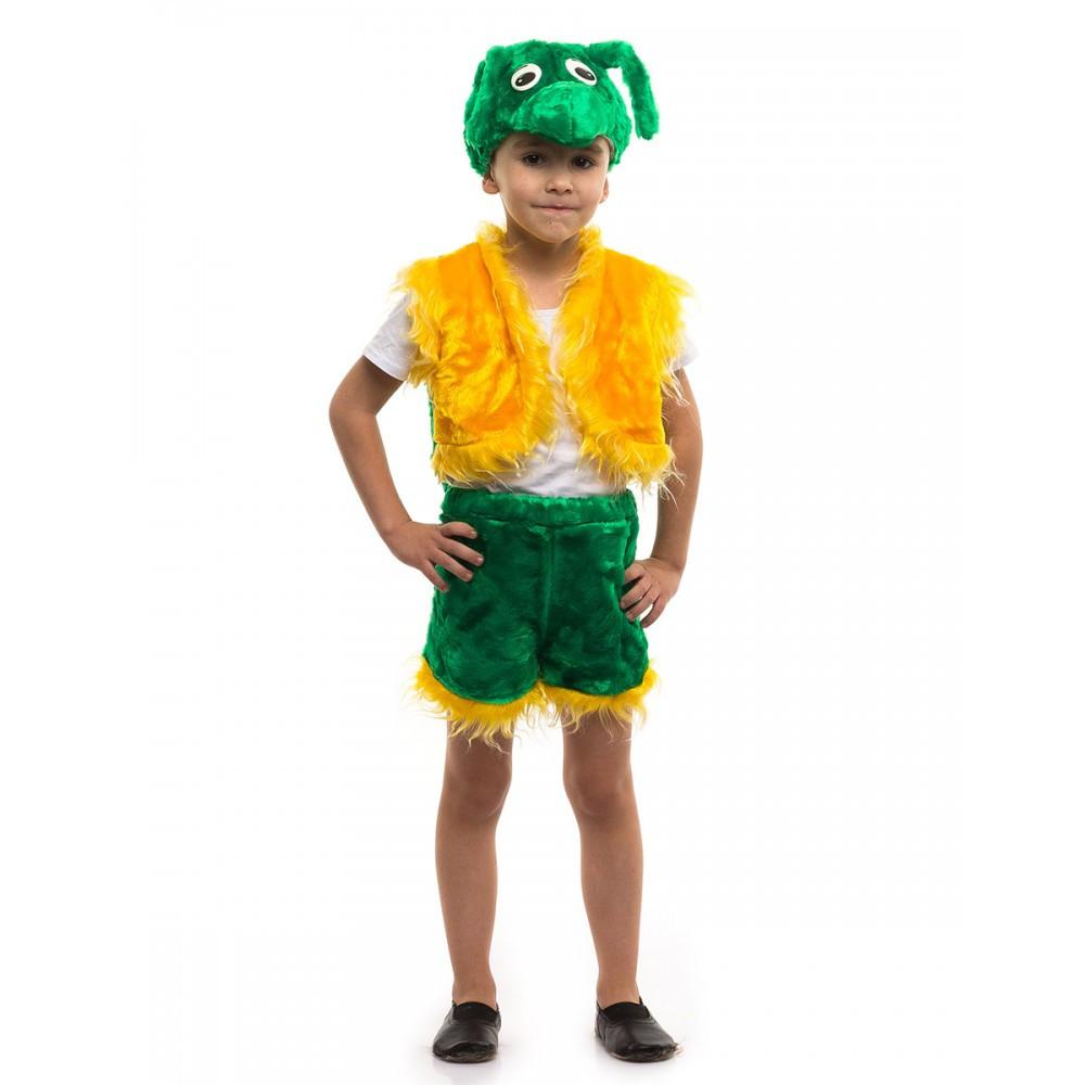 Детский маскарадный костюм Кузнечика от 3 до 7 лет мех
