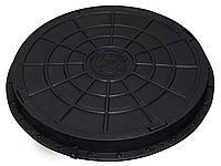 Люк пластиковый садовый (черный)