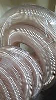 Рукав полиуретановый гофрированный 80мм толщина 0,7мм RONDO2 (Польша), для абразивных материалов