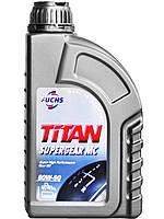 Трансмиссионное масло Fuchs TITAN SUPERGEAR масло 80w 90 4л