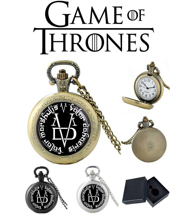 Карманные часы Валар Моргулис Безликие Игра престолов / Game of Thrones