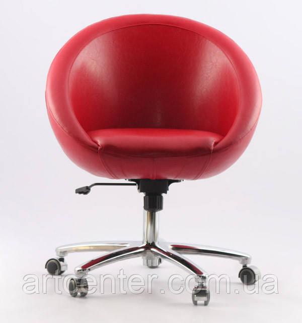 Кресло на колесиках, передвижное Marbino Office Sancafe (красное)