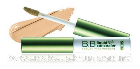 Консилер (маскирующее средство) VOV bb Liquid Concealer, фото 2