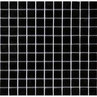 Мозаика  черная в одессе   В 066