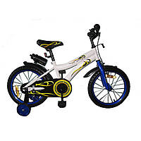 Велосипед двухколёсный Babyhit Condor - WHITE with Blue