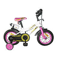 Велосипед двухколёсный Babyhit Condor - WHITE with Pink