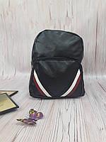 Рюкзак городской из эко-кожи черный