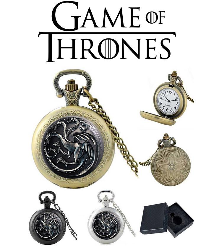Карманные часы Дракон Игра престолов / Game of Thrones