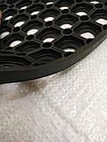 """Коврик резиновый """"Сота"""" 40х60 см. Придверный. От грязи, снега, слякоти. Индия, фото 6"""