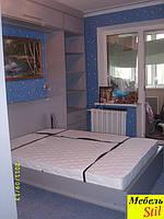 Угловой комплект с шкаф-кроватью трансформер в спальню, фото 1
